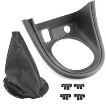 Mustang Shift Boot & Bezel Kit  - Synthetic Leather  (99-00)
