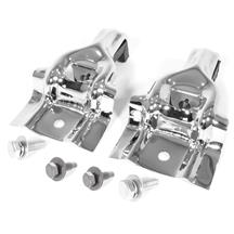 Mustang Upper Radiator Brackets  - Chrome (79-83)