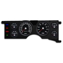 Mustang New Vintage USA Performance Gauge Cluster  - Black (79-86)
