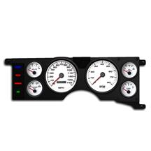 Mustang New Vintage USA Performance Gauge Cluster  - White (79-86)