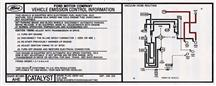 Mustang Automatic Emission Decal (1986) 5.0