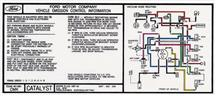 Mustang Automatic Emissions Decal (1985) 5.0