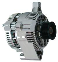 Mustang PA Performance 200 Amp Alternator Chrome (87-93) 5.0