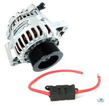 PA Performance Mustang 130 Amp Alternator & Power Wire Kit (03-04) Cobra