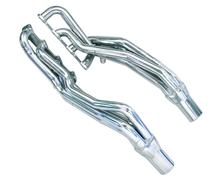 "Mustang Pacesetter Long Tube Headers, 1 5/8"" Primaries, 3"" Collectors Armor Coated (96-04) 4.6 2..."