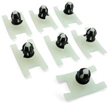 Mustang Outer Door Belt Molding Retainer Kit (79-82)