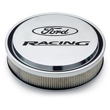 Mustang Ford Racing Slant-Edge Aluminum Air Cleaner  - Polished (79-85) 5.0/5.8
