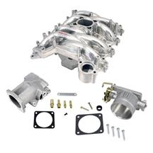 Mustang Intake Manifold, Plenum, Throttle Body Kit Polished (99-04)