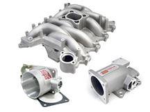Mustang Professional Products Typhoon Intake Manifold, Plenum, Throttle Body Kit 75mm, Satin (99...
