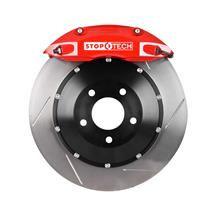 "Mustang Stop Tech Big Brake Kit - 4 Piston - 13"" Red (94-04)"