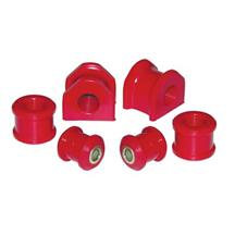 Mustang Prothane Urethane 20mm Rear Sway Bar Bushing Set Red (05-14)