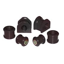 Mustang Prothane Urethane 20mm Rear Sway Bar Bushing Set Black (05-14)