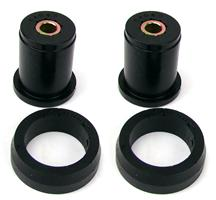 Mustang Prothane Hard Compound Rear Upper Axle Bushings Black (79-04)