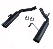 Mustang Pypes Pype Bomb Axle Back Exhaust Black (05-10)