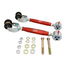 QA1 Mustang Adjustable Rear Upper Control Arms Red (79-04) 5255