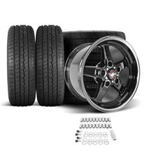 F-150 SVT Lightning Race Star Dark Star Wheel & Tire Kit - 17x7/10.5  - Direct Drill - M/T Tires...