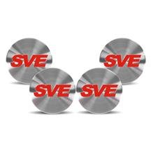 SVE  Mustang Wheel Center Cap  - Red