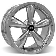 Mustang Bullitt Wheel - 18x9  - Chrome (05-17)