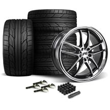 Mustang Rovos Calvinia Wheel & Tire Kit - 20x8.5/10  - NT555 G2 (15-17)