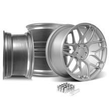 Mustang Rovos Pretoria Wheel Kit 20x8.5/10  - Satin Silver (05-14)