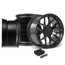 Mustang Rovos Pretoria Wheel Kit 20x8.5/10  - Gloss Black (05-14)