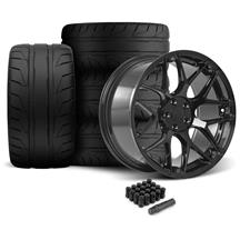Mustang Rovos Pretoria Wheel & Tire Kit 20x8.5/10  - Gloss Black - NT05 Tires (05-14)