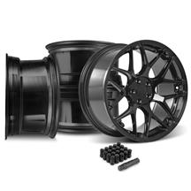 Mustang Rovos Pretoria Wheel Kit 20x8.5/10 - Gloss Black (15-17)