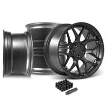 Mustang Rovos Pretoria Wheel Kit 20x8.5/10  - Satin Gun Metal (05-14)