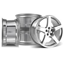 "Mustang Roush Wheel Kit - 20x9.5"" Chrome (05-15)"