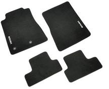 Mustang Roush Logo Floor Mats Black