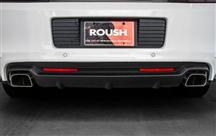 Mustang Roush Rear Valance Kit w/ Axle Back Exhaust (13-14) 5.0/5.8