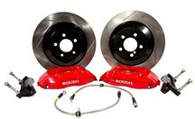 Mustang Roush 4 Piston Front Brake Kit Red (05-14)