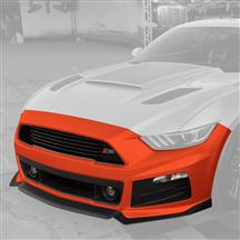 Mustang Roush Complete Front Fascia Kit Competition Orange (15-17)