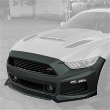 Mustang Roush Complete Front Fascia Kit Guard Green (15-17)