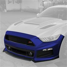 Mustang Roush Complete Front Fascia Kit Deep Impact Blue (15-17)