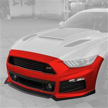 Mustang Roush Complete Front Fascia Kit Race Red (15-17)