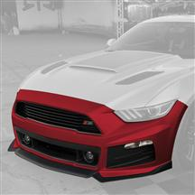 Mustang Roush Complete Front Fascia Kit Ruby Red (15-17)