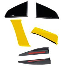 Mustang Roush 3-Piece Body Kit  - Triple Yellow (15-17)