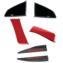 Mustang Roush 3-Piece Body Kit  - Ruby Red (15-17)