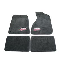 Mustang Roush Floor Mats  - Dark Gray (94-04)