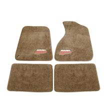 Mustang Roush Floor Mats  - Tan (94-04)