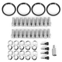 Mustang Race Star 14mm Closed End Lug Nut Kit - 20pc (15-19)