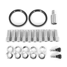 Mustang Race Star 14mm Open End Lug Nut Kit - 10pc (15-18)