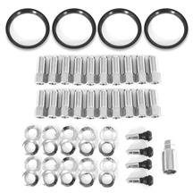 Mustang Race Star 14mm Open End Lug Nut Kit - 20pc (15-18)