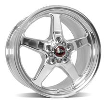 Mustang RaceStar Drag Star Wheel - 17x10.5 - Polished (05-18)