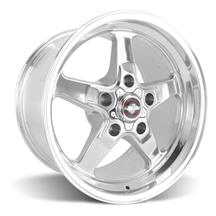 F-150 SVT Lightning Race Star Drag Star Wheel - 17x10.5  - Polished - Direct Drill (99-04)