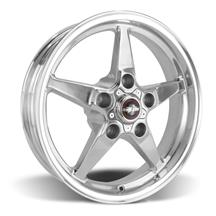 F-150 SVT Lightning Race Star Drag Star Wheel - 17x4.5  - Polished - Direct Drill (99-04)