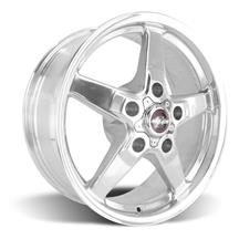 F-150 SVT Lightning Race Star Drag Star Wheel - 17x7  - Polished - Direct Drill (99-04)