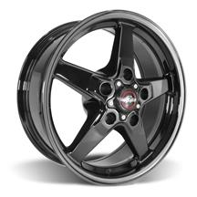 F-150 SVT Lightning Race Star Dark Star Wheel - 17x7 - Direct Drill (99-04)