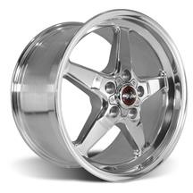 Mustang Race Star Drag Star Wheel - 17x9.5  - Polished - Direct Drill (05-17)